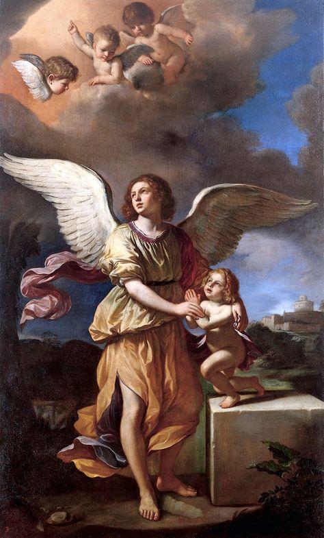 Guercino Angelo custode