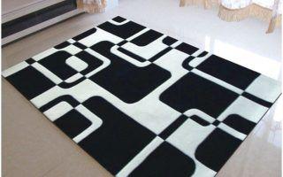 Black N White Rugs Rugs Black Rug Rugs On Carpet