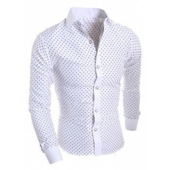 97d7d18ee35  AdoreWe DressLily T-Shirts - Dresslily - Long Sleeve Star Print Shirt -  AdoreWe.com
