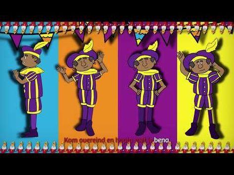 Pietengym De Pietengymnastiek Zwarte Piet