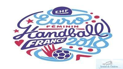 Handbal Romania Invinsa Clar De Olanda La Euro 2018 Jurnal De Craiova Handball Euro Logo Sticker