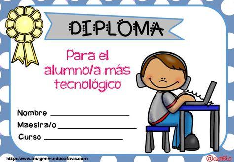 Diplomas FIN DE CURSO para premiar actitud y las capacidades (19)