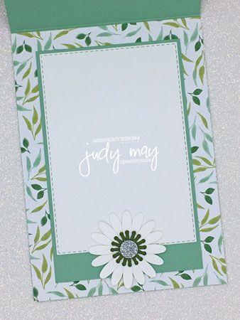 Stampin Up Garden Lane Dsp Daisy Punches Judy May Just Judy