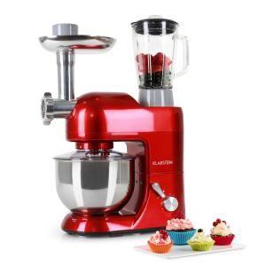 Lucia Rossa Robot De Cocina Batidora Amasadora Picadora Rojo Robot De Cocina Máquina Para Hacer Pasta Batidora De Pie