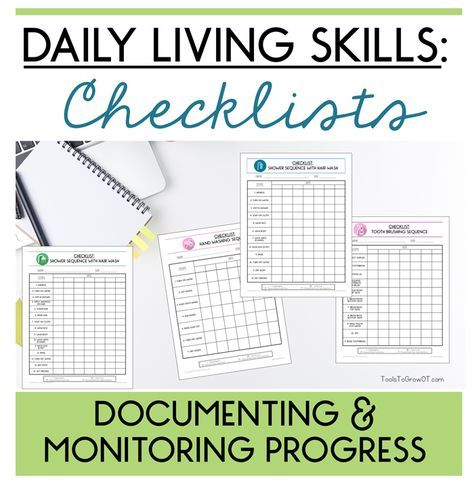 Daily Living Skills Strategies To Help Sequence Achieve Personal Hygiene Tasks Living Skills Life Skills Activities Functional Living Skills
