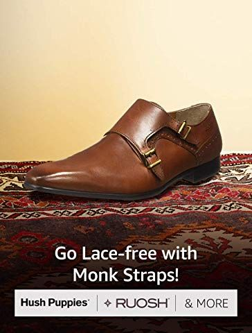 Go Lace Free With Monk Straps Hush Puppies Ruosh More