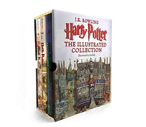 Harry Potter: The Illustrated Collection (Books 1-3 Boxed Set) - Default