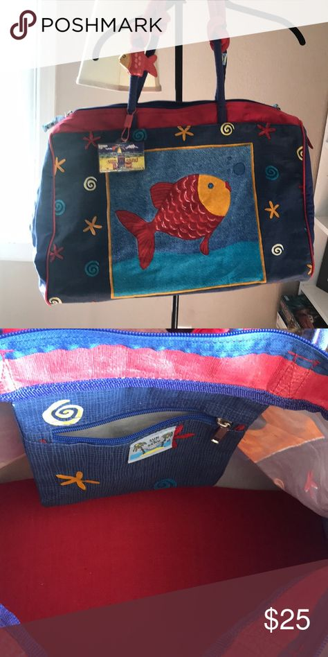 Like New Sun N Sand Beach Tote Bag