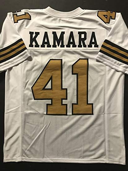 buy online 02a10 7c173 Unsigned Alvin Kamara New Orleans Color Rush Custom Stitched ...