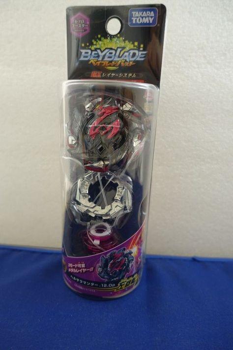 Takara Tomy Beyblade BURST Super Z B-113 Hell Salamander 12 Op F//S w//Tracking#
