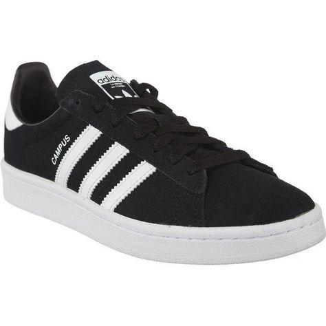 brand new 7ebf4 7ad15 Trampki Damskie Adidas Czarne Adidas Campus J 580 Adidas