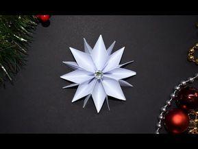Basteln Weihnachten Sterne Basteln Mit Papier