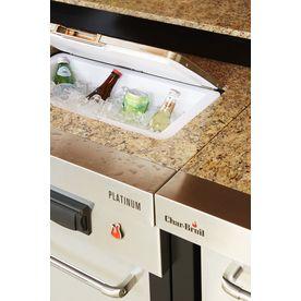 Char Broil Modular Outdoor Kitchen Medallion Modular Sink And Cooler Lowes Com Modular Outdoor Kitchens Outdoor Kitchen Outdoor Kitchen Bars