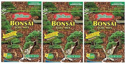 3 Bags Hoffman 10708 2 Quart Bonsai Potting Soil Mix Home And Yard Potting Soil Bonsai Soil Bonsai