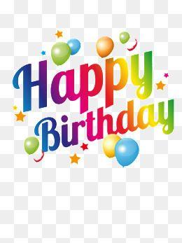 Happy Birthday English Words Birthday Clipart Birthday Blessing