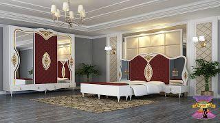 أفضل أسعار وتصميمات غرف نوم للعرسان مصرية خشب من دمياط 2021 Modern Luxury Bedroom Luxurious Bedrooms Bed Furniture