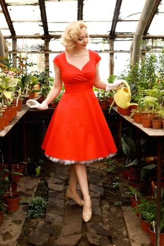 Shop Vintage Retro Women S Clothing Online Nz Zapaka Nz In 2020 Vintage Red Dress Vintage Style Dresses Red Swing Dress