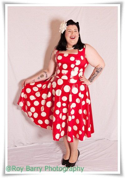 Red dress plus size uk designers