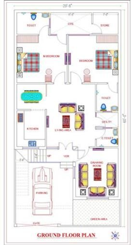 Independent Floor House Plans Delhi Ncr Chennai Bangalore And Hyderabad In 2020 House Plans House How To Plan