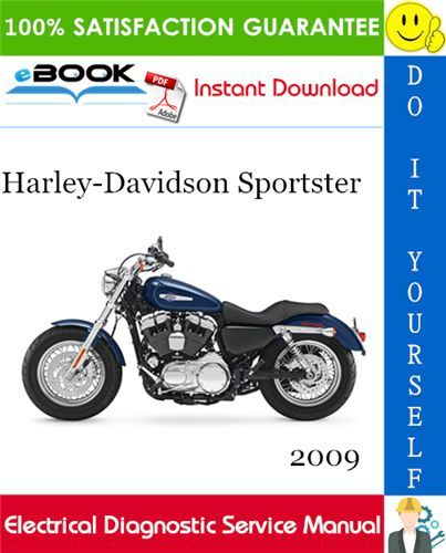 2009 Harley Davidson Sportster Electrical Diagnostic Service Manual This Is The Complete Electrical Diagno In 2020 Harley Davidson Sportster Harley Davidson Sportster