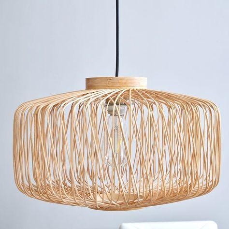 Bloomingville pendant lamp natural bamboo LIVING AND CO.