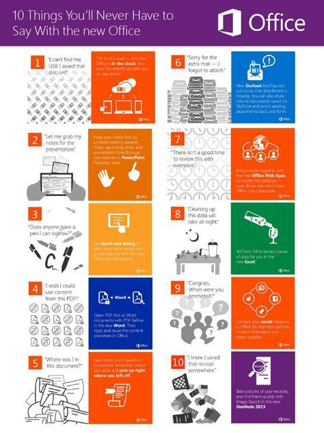 Top Office 365 Features For Improving Your Business [Infographic]