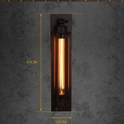 1x Modern Vintage Retro Industrial Rustic Sconce Wall Light Lamp Fitting Fixture Ebay In 2020 Industrial Ceiling Lights Industrial Wall Lamp Ceiling Lights