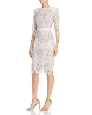 Bronx And Banco Medeleine Lace Dress Bloomingdale S Womens Dresses Lace White Dress Lace Dress