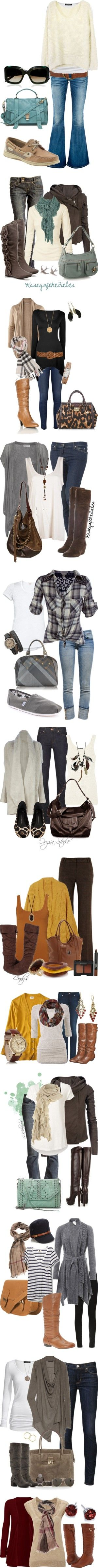 """Fall in Pants"" by vbean ❤ liked on Polyvore"