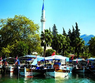 Meridian Travels and Yachting. Walking and sailing tours in Turkey.   The coastal town of Marmaris