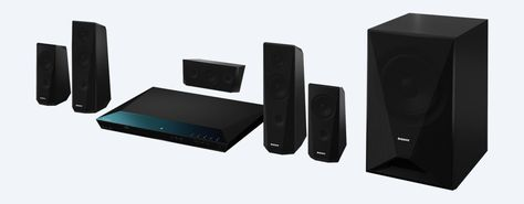 Dynamiqav Provide Sony Blu Ray Home Theater System With Bluetooth The E4100 Features Two Tall Spea Installation Home Theater Installation Blu Ray Home Theater
