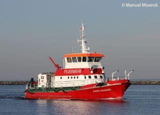 Feuerloschboot Albert Wegener Feuerwehr Fahrzeuge Fahrzeuge Wasserfahrzeug