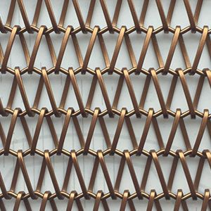 A Copper Mesh We Both Like Image Result For Copper Mesh Fencing Mesh Fencing Wall Covering Copper