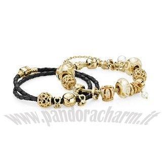 pandora bracciale oro prezzo