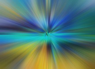 Abstract Multicolored Zoom Effect Background Digitally Generated Image Rays Of Versicolor Light Colorful Radial Blur Abstract Background Stock Illustration