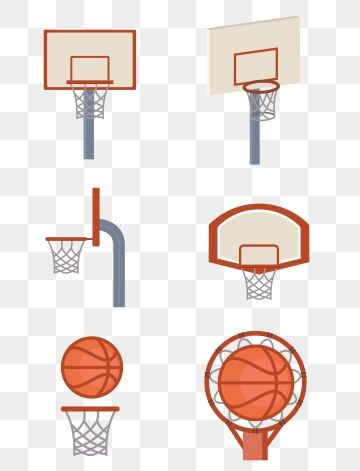 Basketball Border Orange Cartoon Set Of Illustration Basketball Frame Cartoon Png And Vector With Transparent Background For Free Download Free Graphic Design Cartoons Png Cartoon Clip Art