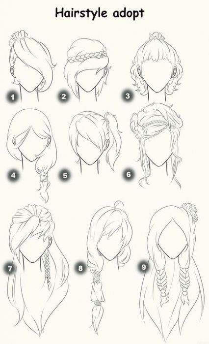 Hair Bangs Side Up Dos 26 Ideas Sketches Drawings How To Draw Hair