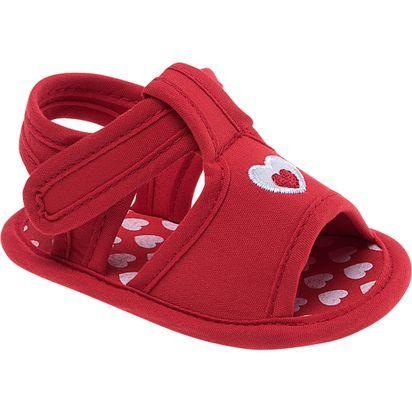 852cfbc74e723 Sandalia-Pimpolho-vermelha-com-coracao | Allison Nicole | Sapatos ...