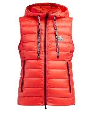 74e461ae9 New Moncler Sucrette quilted nylon gilet. Womens Clothing from top ...
