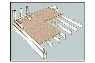How To Raise The Garage Floor House, Level Garage Floor With Wood