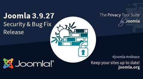 Joomla 3.9.27 Security and Bug Fix Release