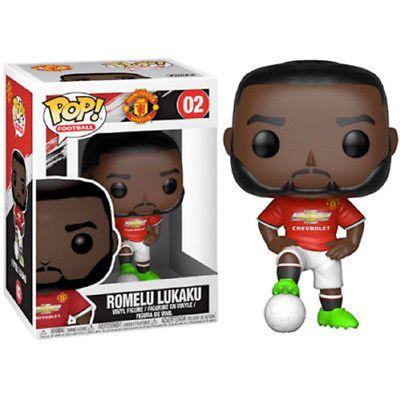 Manchester United Football Sports Romelu Lukaku Pop Vinyl Collectible Figure
