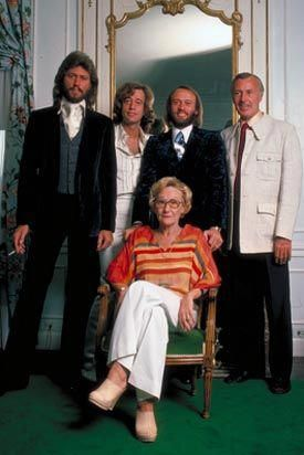 The Boys with Mom and Dad #BeeGees
