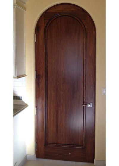Custom Interior Round Top Doors Arched Top Interior Doors