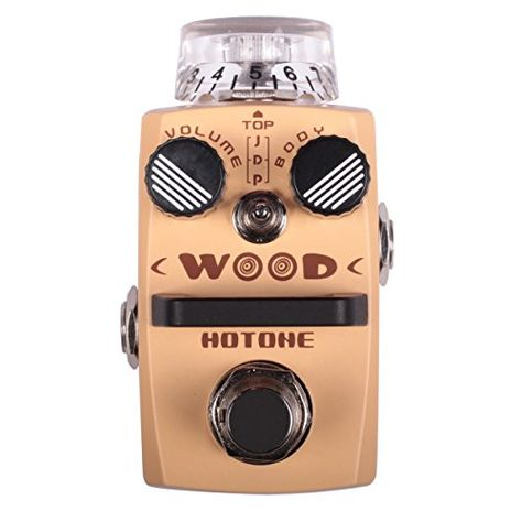 Amazon Com Hotone Skyline Series Stompbox Wood Acoustic Guitar Simulator Effect Pedals True Bypass Musica Guitar Effects Effects Pedals Guitar Effects Pedals