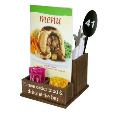 Juber Bassal Juberbas On Pinterest - Table menu holders for restaurants