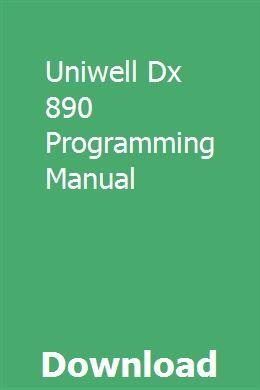 Uniwell sx-6600 sx-6700 sx-6750 and f type 05 programming manual.