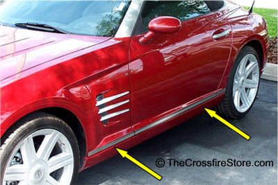 Chrysler Crossfire Parts Accessories Store With Images
