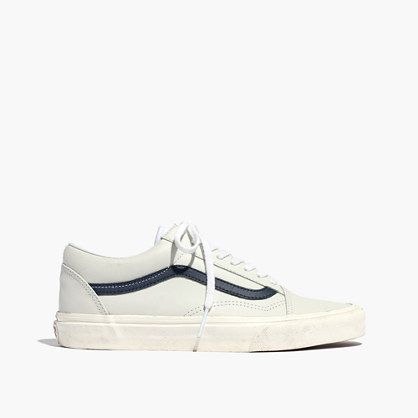 Madewell x Vans® Unisex Old Skool Lace Up Sneakers in Camel