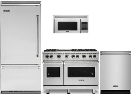 Viking 874341 4 Piece Stainless Steel Kitchen Package With Vcbb5363elss 36 Bottom In 2020 Bottom Freezer Bottom Freezer Refrigerator Stainless Steel Kitchen